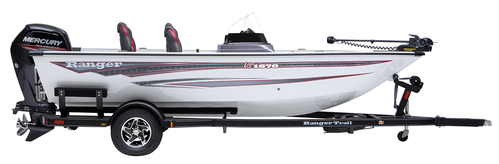 Ranger VS1670DC Aluminum deep V fishing boat