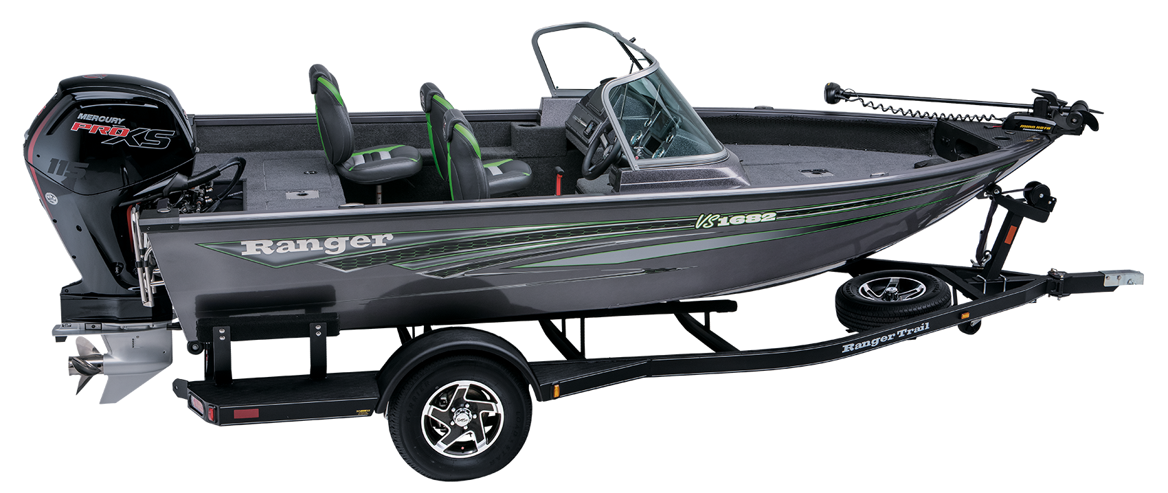 Ranger VS1682WT Aluminum deep V fishing boat