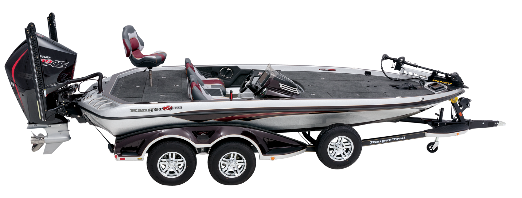 Ranger Z520c Ranger Cup Equipped, the best tournament bass boat