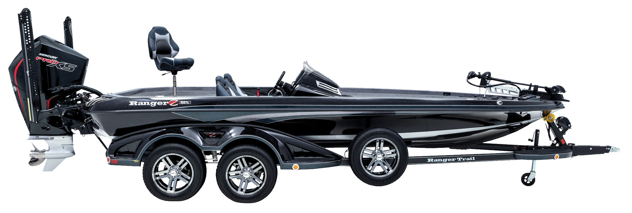 Ranger Z521c Ranger Cup Equipped, the best tournament bass boat