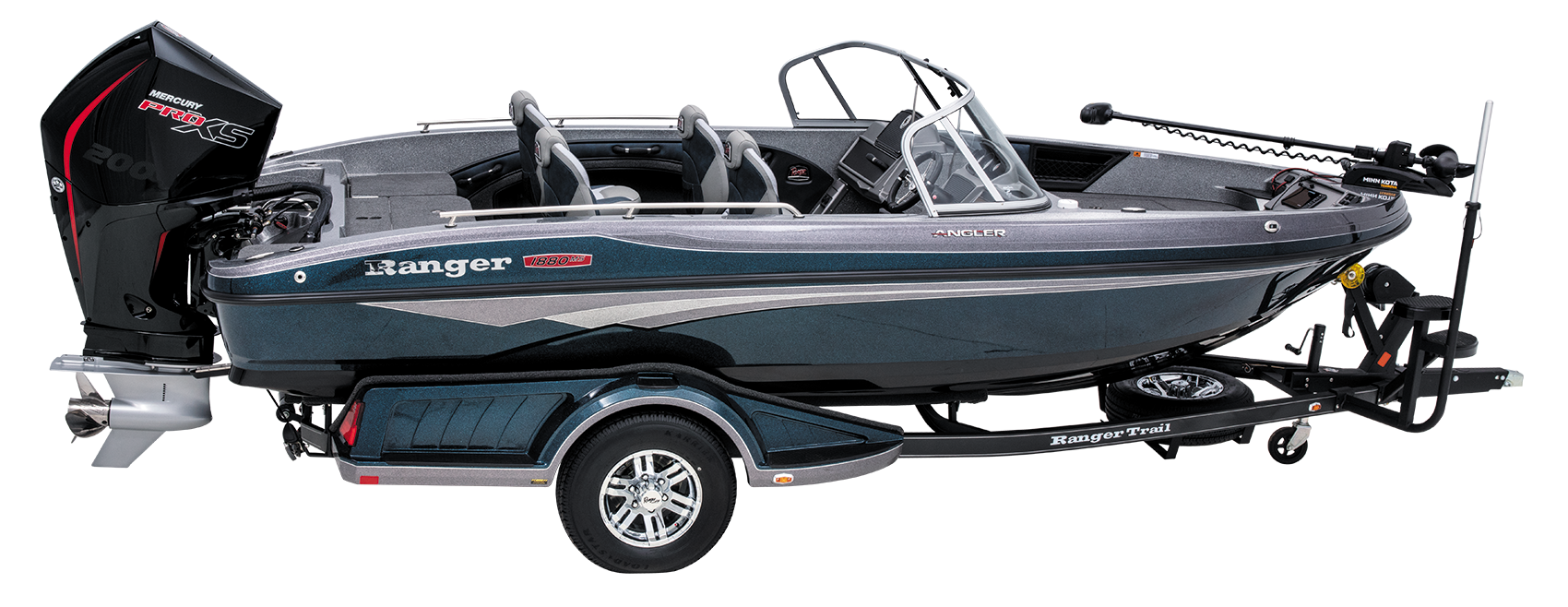 Ranger 1880MS multi species deep v walleye boat