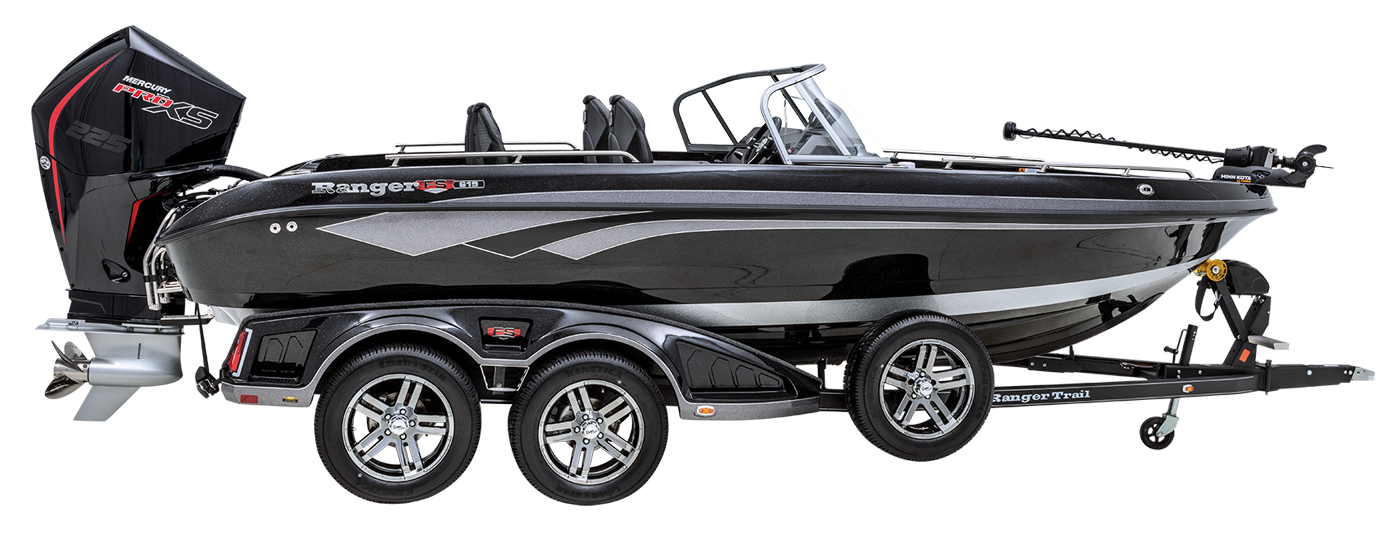 Ranger 619FS Ranger Cup Equipped Deep V fiberglass fishing boat