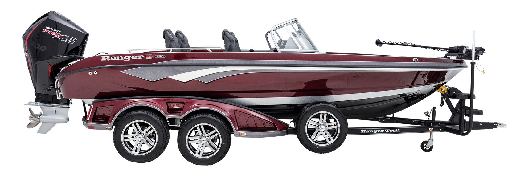 Ranger 620FS PRO all-new deep V multi species walleye boat