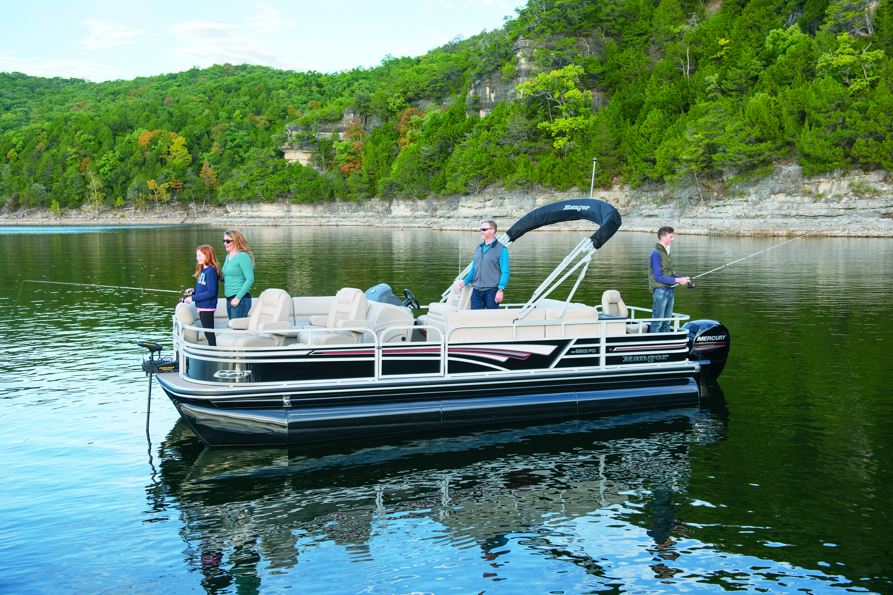 Fishing Pontoon Boats For Sale >> Ranger Boats Introduces Fish Cruise Pontoon Models